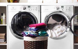 kinh nghiệm sử dụng máy giặt cho mùa mưa